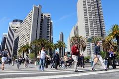 San Francisco da baixa Imagens de Stock