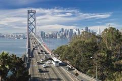 SAN FRANCISCO - DAS NOVEMBER 2012: Die Schacht-Brücke Lizenzfreies Stockbild
