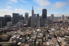 San Francisco de acima Fotos de Stock