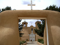 San Francisco De Asis Church-Front royalty free stock images