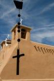 San Francisco de Asis Mission Church nel New Mexico fotografia stock libera da diritti