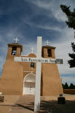 San Francisco de Asis Mission Church in New Mexico Royalty Free Stock Photos