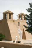 San Francisco de Asis Mission Church in New Mexico stock photography