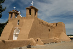 San Francisco de Asis Mission Church in New Mexico Royalty Free Stock Image