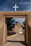 San Francisco de Asis Mission Church in New Mexico Stock Image