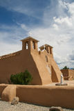 San Francisco de Asis Mission Church in New Mexico Royalty Free Stock Images