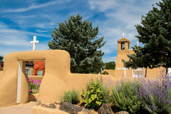 San Francisco de Asis Mission Church in New Mexico Stock Photo