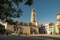 San Francisco de Asis Square Havana Royaltyfri Fotografi