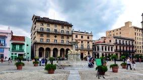 San Francisco de Asis Square in Old Havana stock image