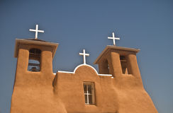 San Francisco de Assisi Church. In Rancho de Taos in New Mexico royalty free stock image