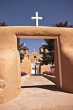 San Francisco de Assisi Church. View of San Francisco de Assisi Church in Rancho de Taos in New Mexico stock photo
