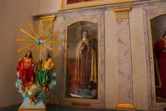 San Francisco de Campeche, México Catedral interior em Campeche foto de stock