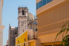 San Francisco de Campeche, Messico: Punto di vista di ex San Jose Cathedral Era il tempio principale del monastero della gesuita, Immagini Stock Libere da Diritti