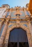San Francisco de Campeche, Messico: Punto di vista di ex San Jose Cathedral Era il tempio principale del monastero della gesuita, Immagini Stock