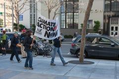 SAN FRANCISCO - 17 DE FEBRERO: âForward masivo en el ra de Climateâ Fotografía de archivo libre de regalías