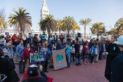 SAN FRANCISCO - 17 DE FEBRERO: âForward masivo en el ra de Climateâ Imagen de archivo