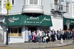 Restaurant de mamá Imágenes de archivo libres de regalías