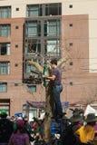 SAN FRANCISCO - 17 DE FEVEREIRO: âForward maciço no ra de Climateâ Foto de Stock