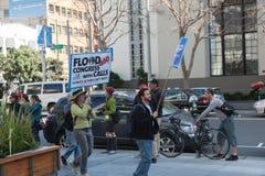 SAN FRANCISCO - 17 DE FEVEREIRO: âForward maciço no ra de Climateâ Foto de Stock Royalty Free