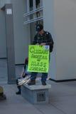 SAN FRANCISCO - 17 DE FEVEREIRO: âForward maciço no ra de Climateâ Imagens de Stock