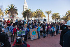SAN FRANCISCO - 17 DE FEVEREIRO: âForward maciço no ra de Climateâ Imagem de Stock