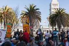 SAN FRANCISCO - 17 DE FEVEREIRO: âForward maciço no ra de Climateâ Imagem de Stock Royalty Free