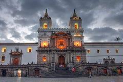 San Francisco de Quito, Equateur Photos stock