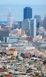 San Francisco de stad in royalty-vrije stock foto