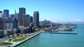 San Francisco de stad in Stock Afbeeldingen