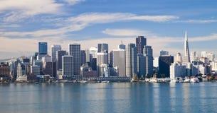 San Francisco de stad in Royalty-vrije Stock Foto's