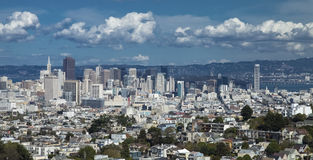 San Francisco de stad in Stock Fotografie