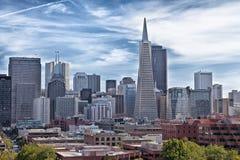 San Francisco de stad in Royalty-vrije Stock Afbeeldingen