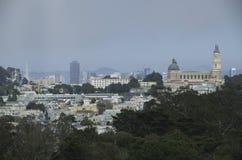 San Francisco de stad in Stock Afbeelding