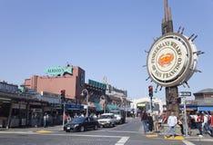 SAN FRANCISCO, DE V.S. - 25 OKTOBER: De Werf van Fishermans Royalty-vrije Stock Afbeeldingen