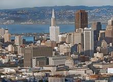 San Francisco del centro Fotografia Stock Libera da Diritti