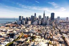 San Francisco del centro immagini stock