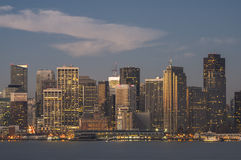 San Francisco del centro alla luce 1 di primo mattino Fotografia Stock