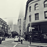 San Francisco del centro, Stati Uniti Fotografie Stock Libere da Diritti