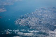 San Francisco del cielo fotografía de archivo libre de regalías