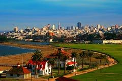 San Francisco del punto de vista Imágenes de archivo libres de regalías