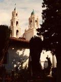 San Francisco an der Dämmerung Stockbild