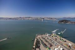 SAN FRANCISCO - der Oakland äußere Hafen Lizenzfreie Stockfotos