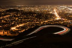 San Francisco des Tours jumelles Image stock