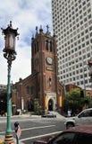 San Francisco: die alte Kathedrale der Heiliger Maria der Unbefleckten Empfängnis Stockbild