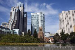 San Francisco downtown Stock Images