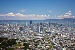 San Francisco downtown Royalty Free Stock Photo