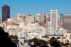 San Francisco Downtown Area Stock Image