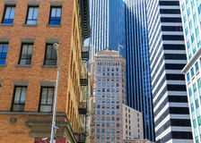 San Francisco Downtown buildings at California Royalty Free Stock Images