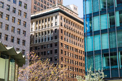 San Francisco downtown buildings in California Stock Photography