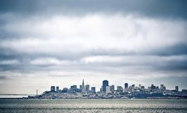 San Francisco downtown cityscape Royalty Free Stock Image